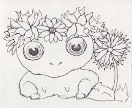 Midsummer frog